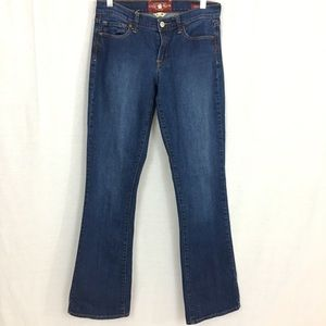 Lucky Brand Sophia Boot Cut Blue Jeans